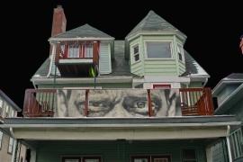 Elmwood Avenue balcony, Buffalo, NY