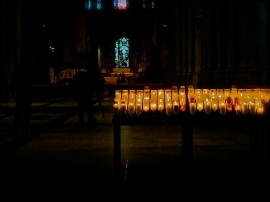 Candles, Cathedral of St. John the Divine, Manhattan
