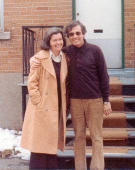 My father, George Basil, turns 81 today. He's the handsome guy in the photo above, next to my Mom, a few years ago in Montreal.