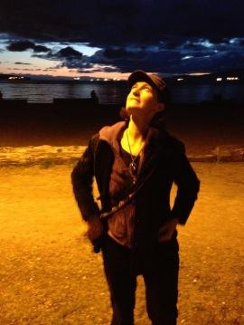 Kat at English Bay